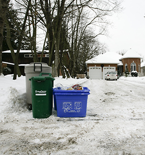 View our Garbage and Recycling page