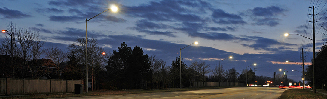 LED streetlights in Richmond Hill