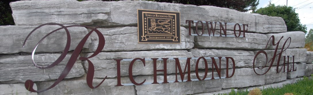 Richmond Hill Sign