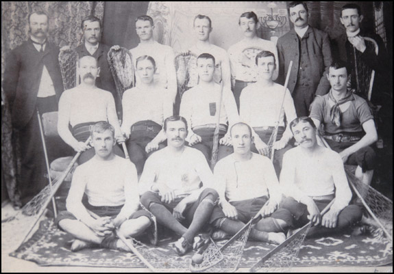 1885 Richmond Hill Young Canadians team picture.