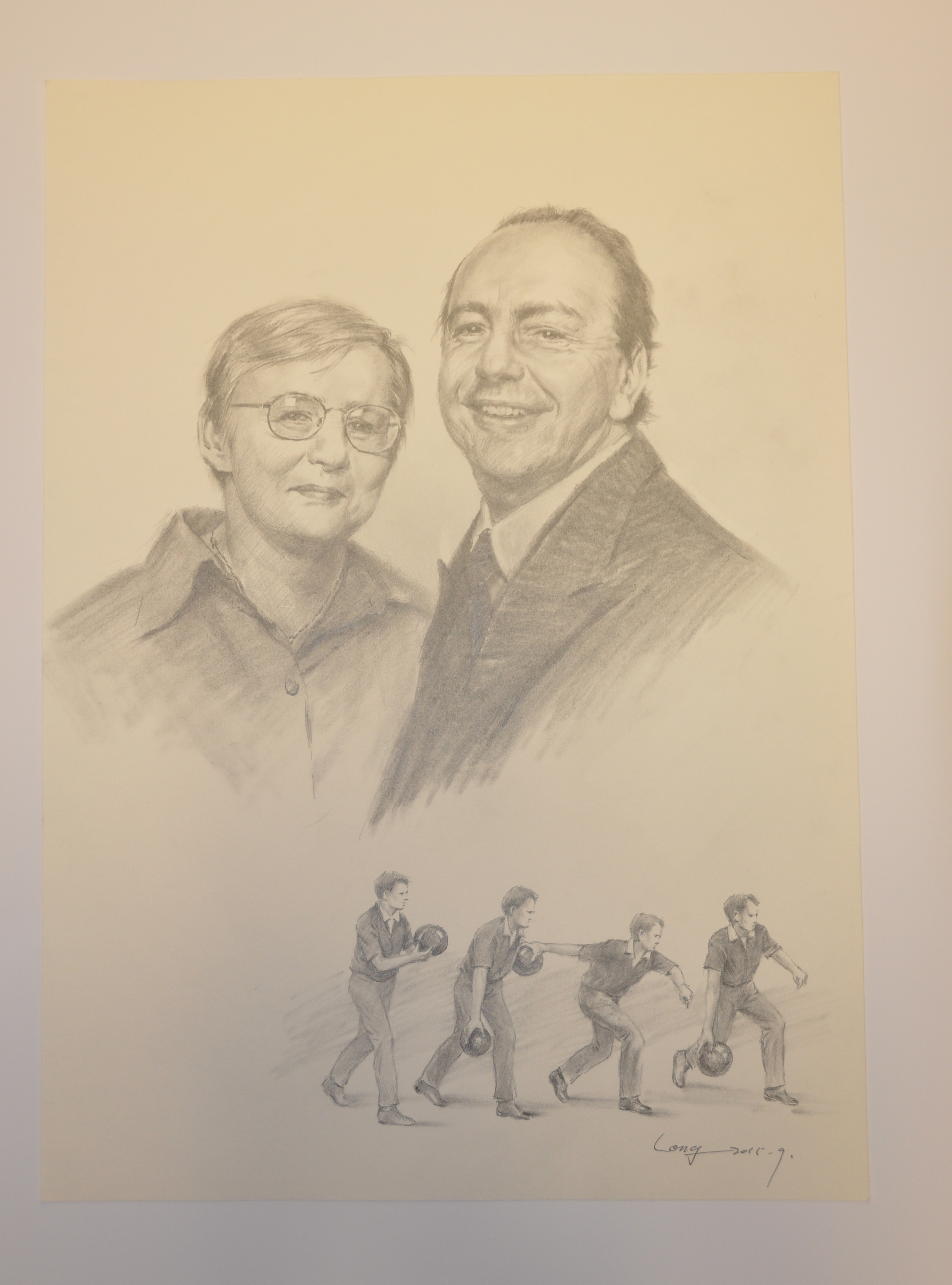 Portrait of Michael and Doreen Kyte.