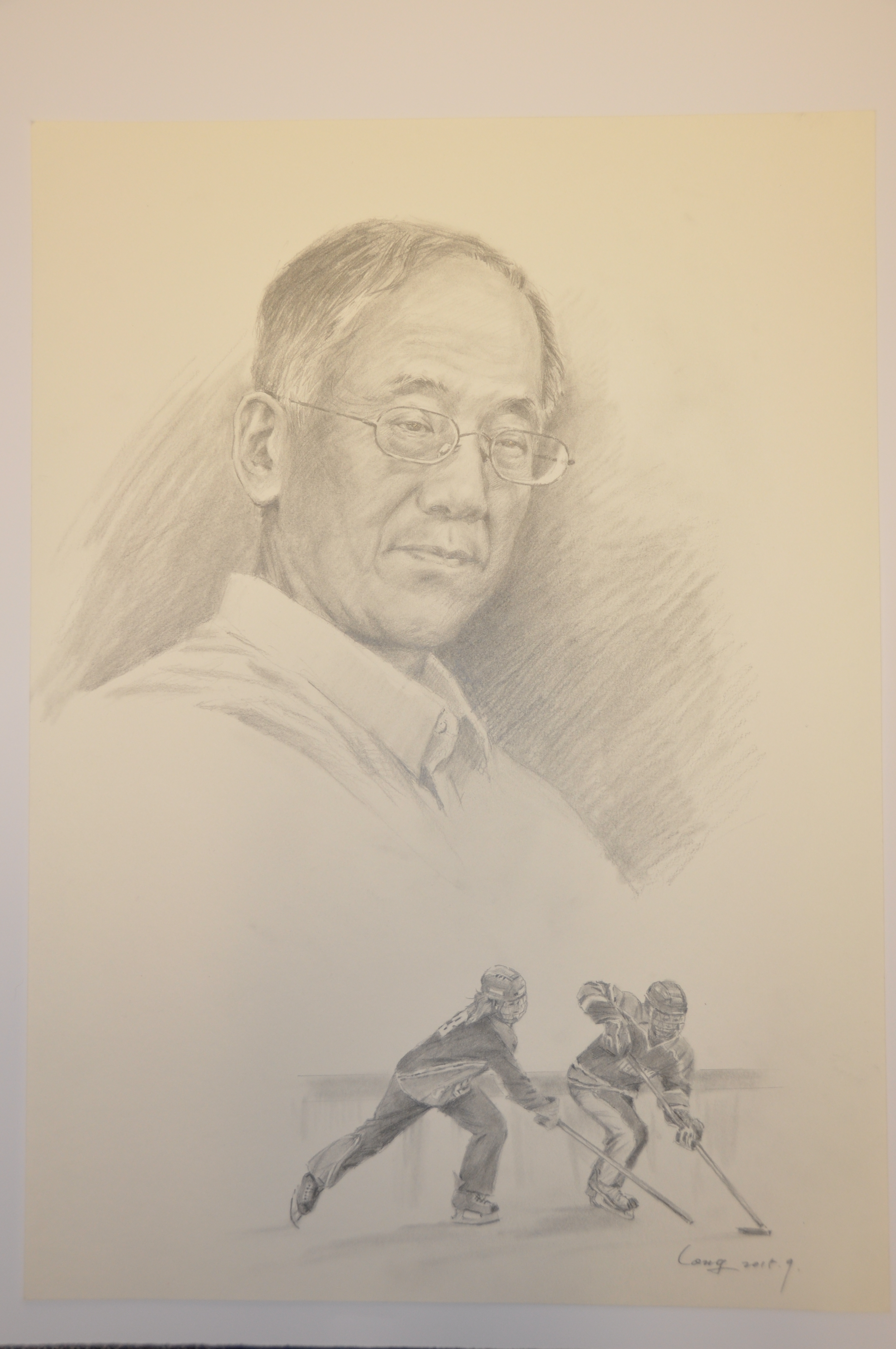 Portrait of Ted Moritsugu.