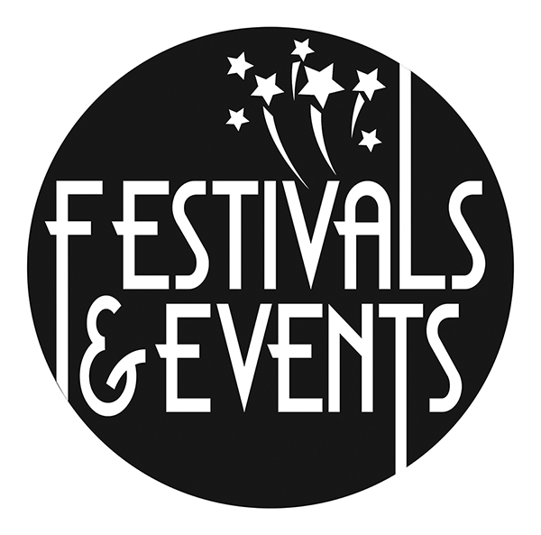 black festival and events logo