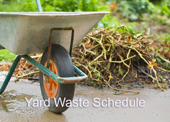 Yard Waste Collection Schedule