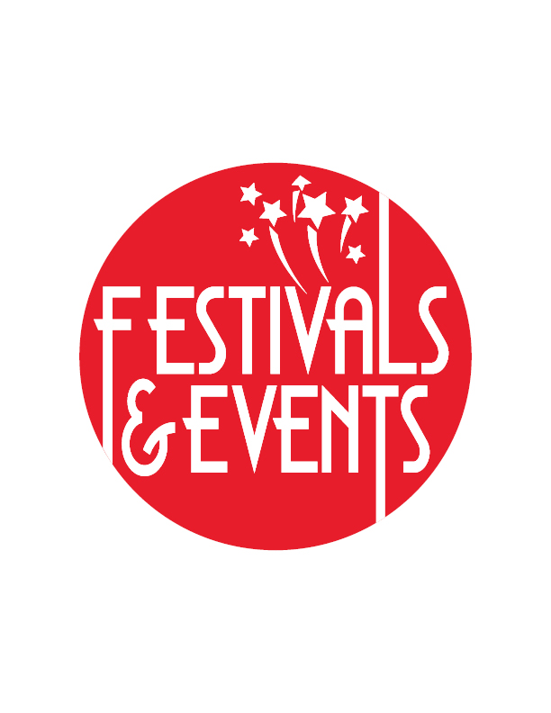 red festival and events logo