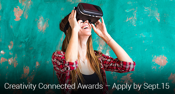 Apply for the Creativity Connected Awards