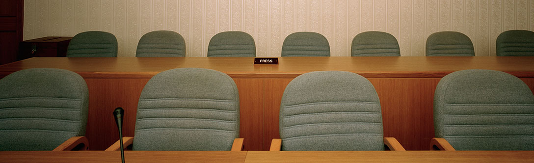 Seats in a meeting room