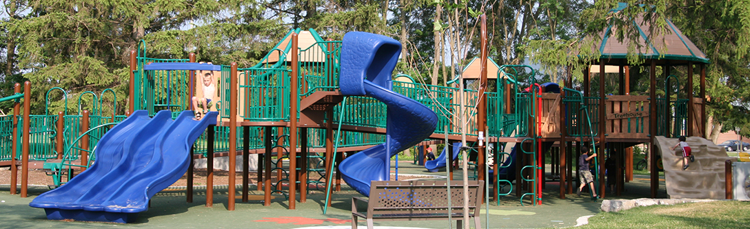 Crosby Park accessible playground