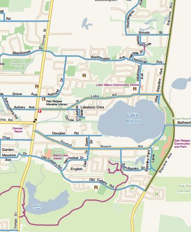 Thumbnail of Cycling Map