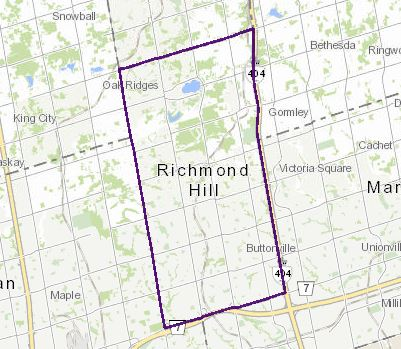 Richmond Hill Zoning Map Map Gallery   City of Richmond Hill