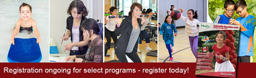Registration ongoing for select programs - register today!