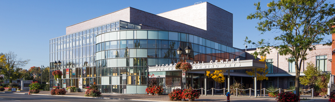 Richmond Hill Centre for the Performing Arts Banner