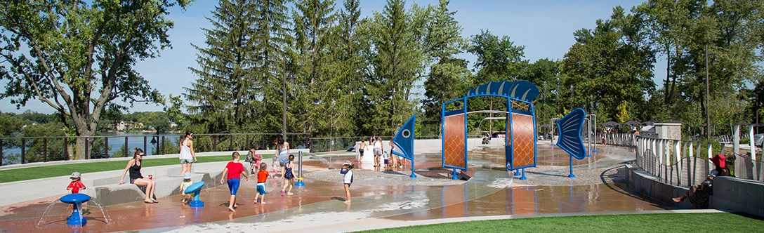 Lake Wilcox Splash Pad